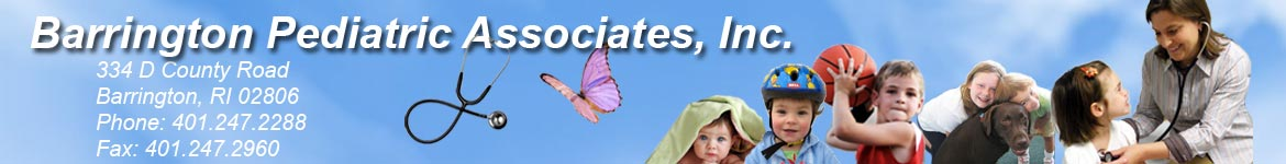 header for Barringotn Pediatric Associates